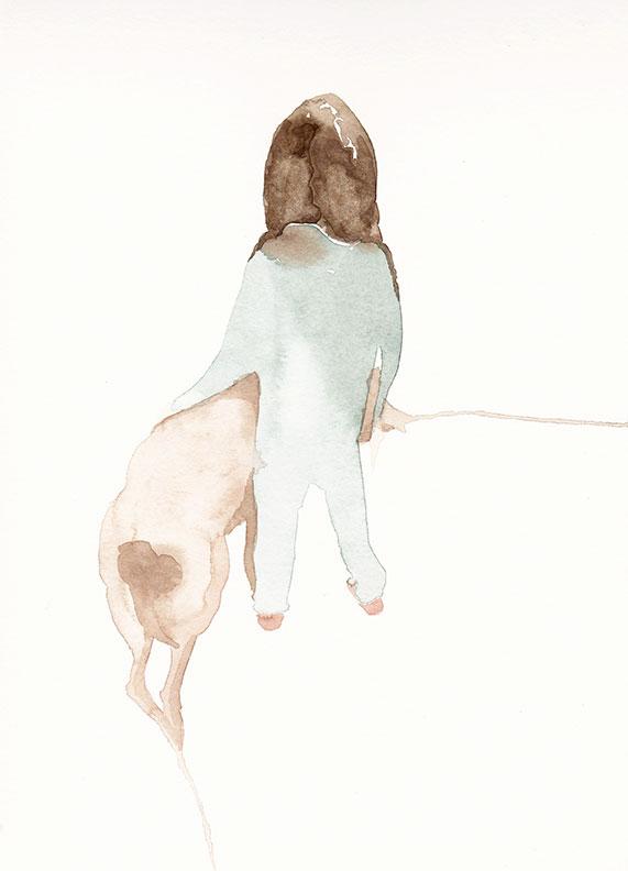 Kalter Hund 21 x 28,5 cm