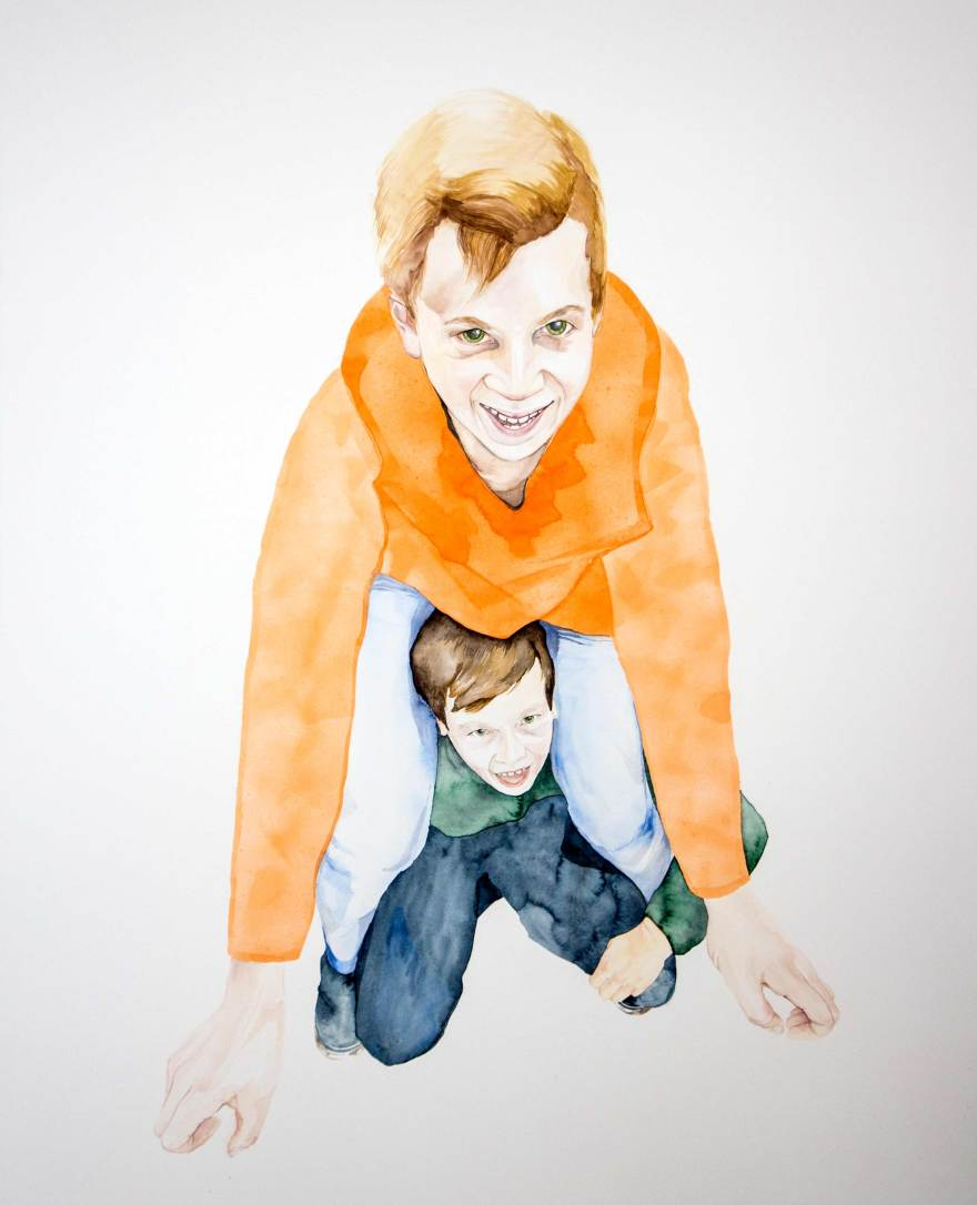Brüder 121 x 148 cm