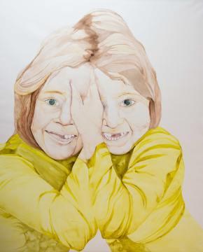 Rosemaries 128 x 145 cm