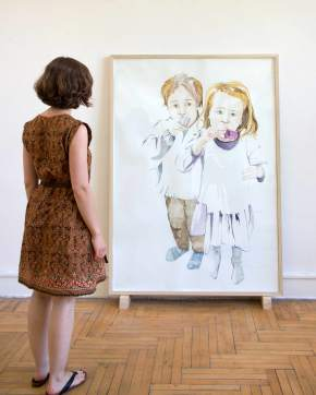 Gratulation 120 x 170 cm